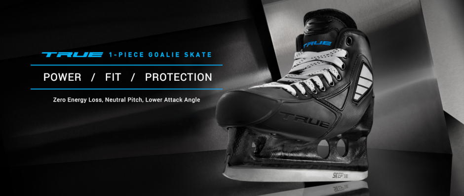 TRUE Goalie Skates 1-piece