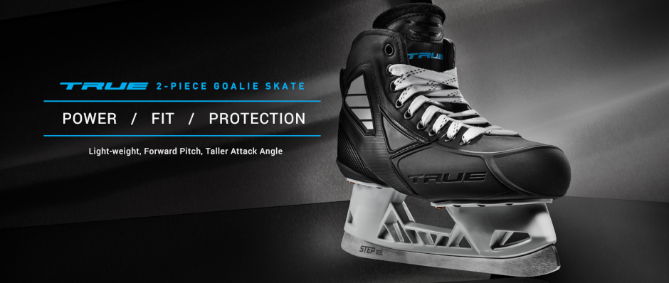 TRUE Goalie Skates 2-piece