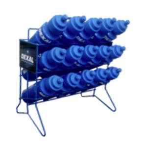 Dexal Sports Bottle Holder with Bottles, Blue