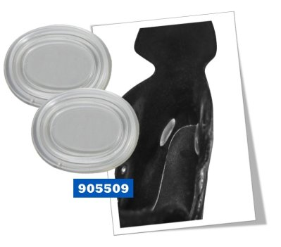 BlueSports Ankle Gel Pad