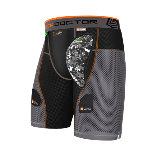 Shock Doctor 375 ULTRA POWERSTRIDE HOCKEY SHORT W/AIRCORE™ HARD